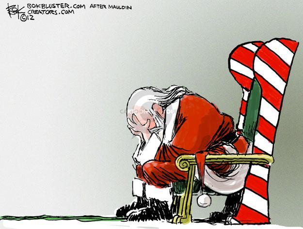 Chip Bok  Chip Bok's Editorial Cartoons 2012-12-15 caption