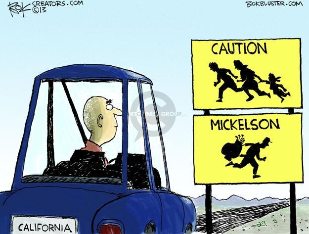 Cartoonist Chip Bok  Chip Bok's Editorial Cartoons 2013-02-01 California