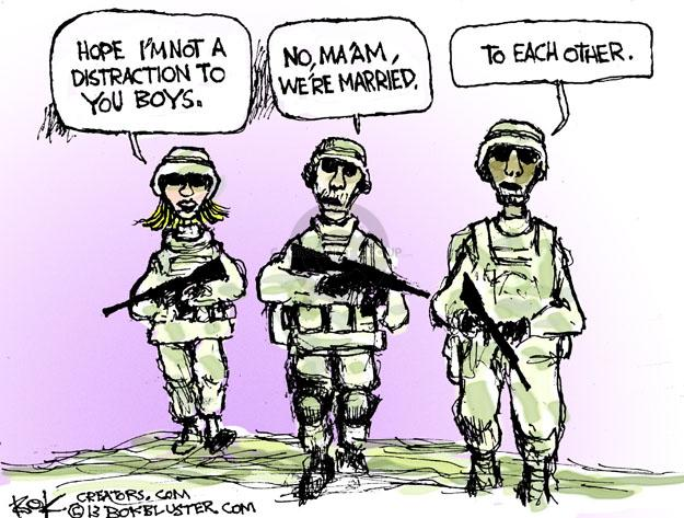 Chip Bok  Chip Bok's Editorial Cartoons 2013-02-04 military