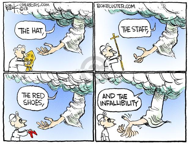 Cartoonist Chip Bok  Chip Bok's Editorial Cartoons 2013-02-28 hat