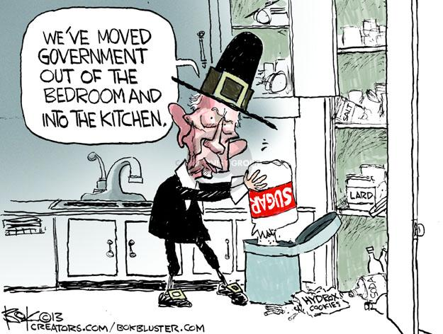 Weve moved government out of the bedroom and into the kitchen. Sugar. Lard. Hydrox Cookies.  Soda.