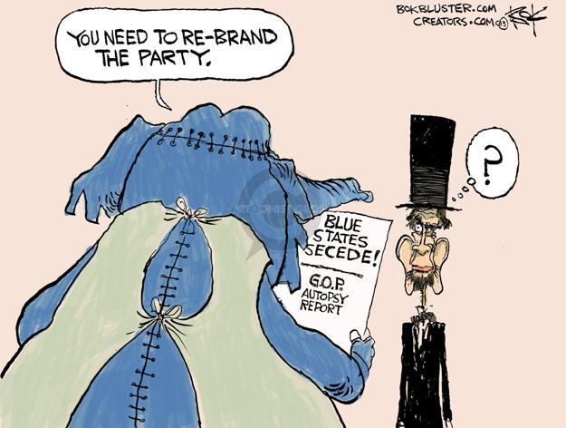 Chip Bok  Chip Bok's Editorial Cartoons 2013-03-19 republican party