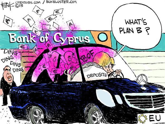 Whats plan B? Bank of Cyprus. Ding ding ding ding. Poof. Deposits. EU.