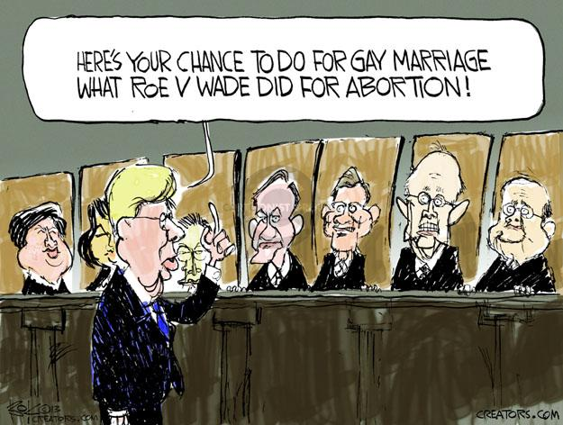 Cartoonist Chip Bok  Chip Bok's Editorial Cartoons 2013-03-28 judicial branch