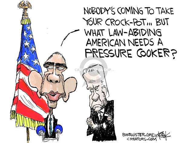 Cartoonist Chip Bok  Chip Bok's Editorial Cartoons 2013-04-18 Joe Biden