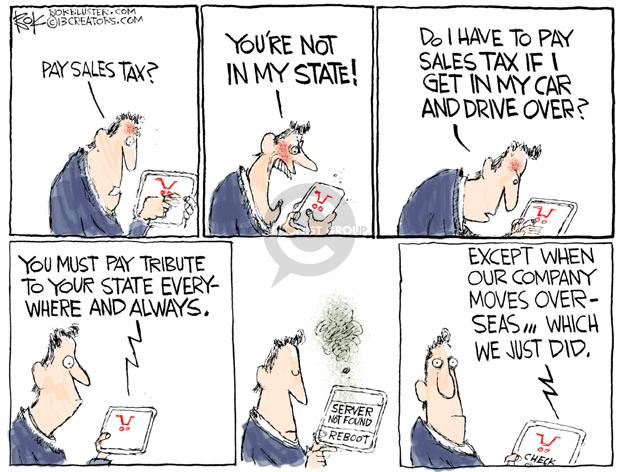 Cartoonist Chip Bok  Chip Bok's Editorial Cartoons 2013-04-30 state