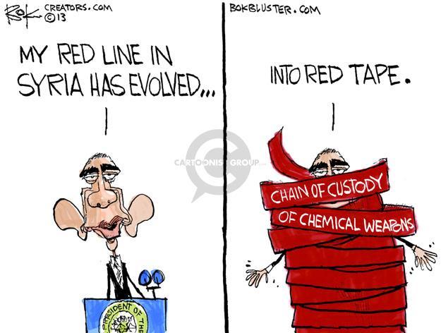 Cartoonist Chip Bok  Chip Bok's Editorial Cartoons 2013-05-04 international relations