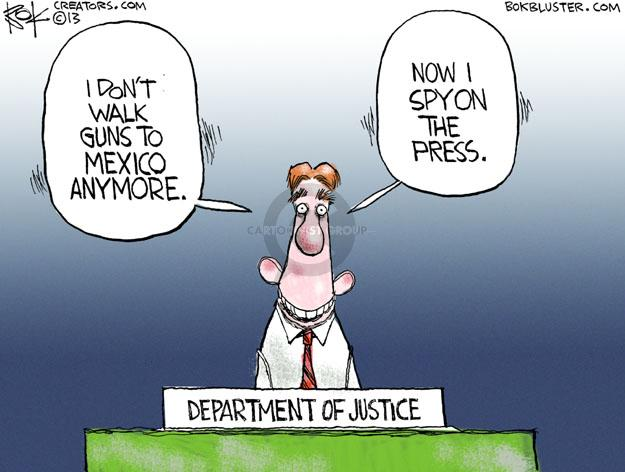 Chip Bok  Chip Bok's Editorial Cartoons 2013-05-14 media freedom