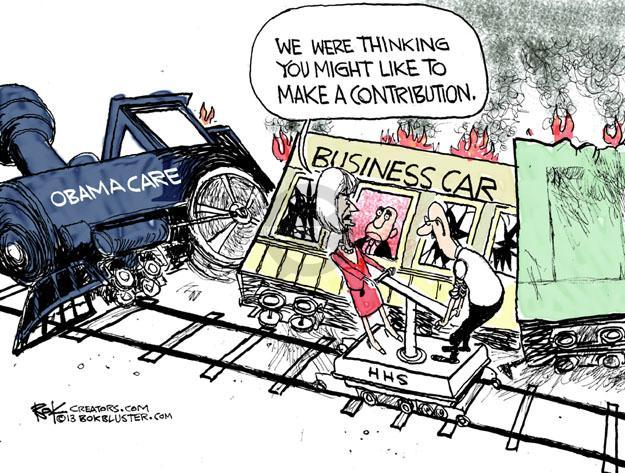 Cartoonist Chip Bok  Chip Bok's Editorial Cartoons 2013-05-20 train