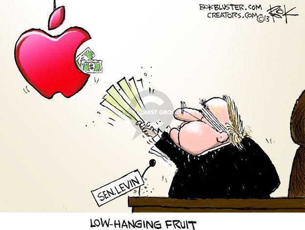 Sen. Levin. Low-Hanging Fruit. $.