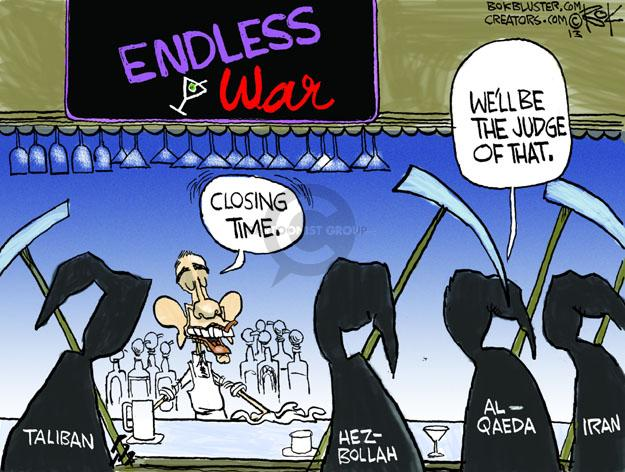 Chip Bok  Chip Bok's Editorial Cartoons 2013-05-29 Al Qaeda
