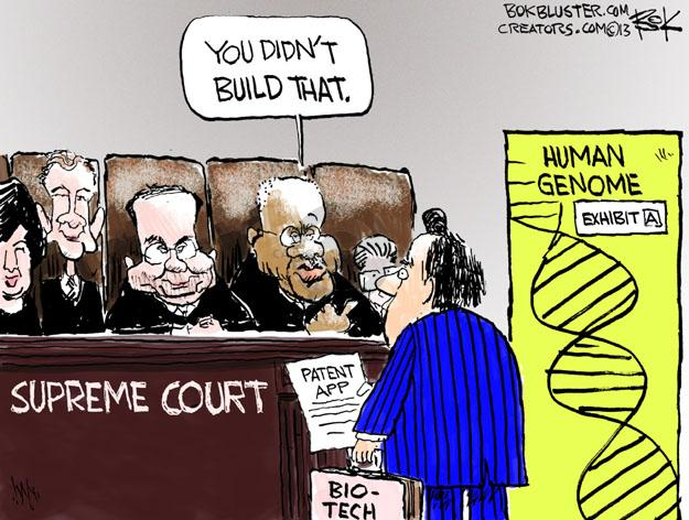 Cartoonist Chip Bok  Chip Bok's Editorial Cartoons 2013-06-14 judicial branch