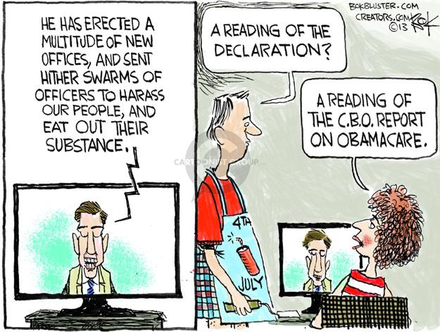 Cartoonist Chip Bok  Chip Bok's Editorial Cartoons 2013-07-01 send