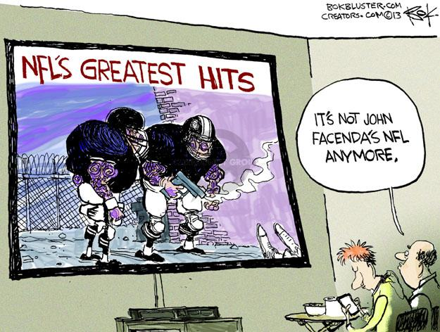NFLs Greatest Hits. Its not John Facendas NFL anymore.