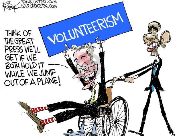 Cartoonist Chip Bok  Chip Bok's Editorial Cartoons 2013-07-16 George Bush