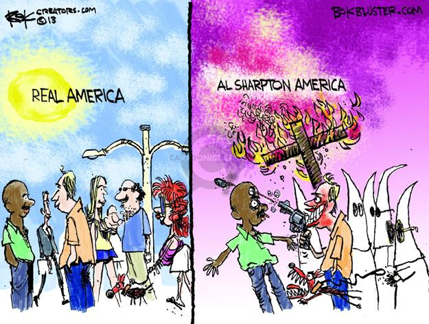 Chip Bok  Chip Bok's Editorial Cartoons 2013-07-19 African-American