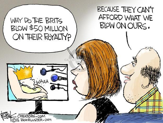 Chip Bok  Chip Bok's Editorial Cartoons 2013-07-23 media coverage