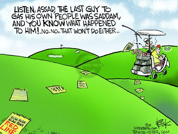 Cartoonist Chip Bok  Chip Bok's Editorial Cartoons 2013-08-23 international relations