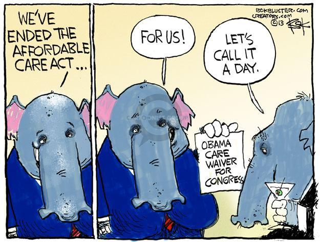 Cartoonist Chip Bok  Chip Bok's Editorial Cartoons 2013-09-06 congress health care