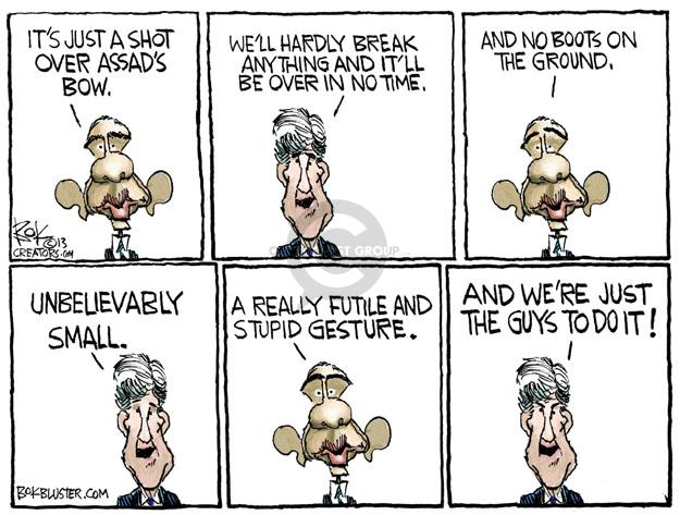 Cartoonist Chip Bok  Chip Bok's Editorial Cartoons 2013-09-09 foreign policy