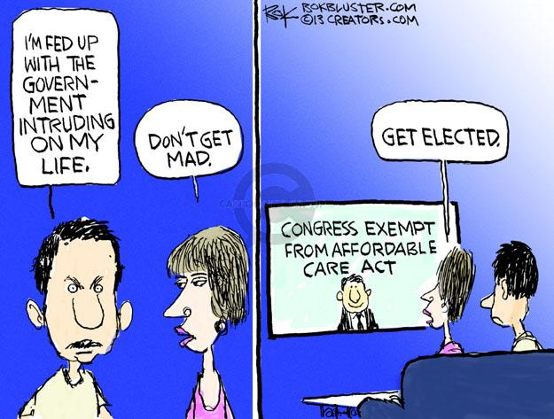Cartoonist Chip Bok  Chip Bok's Editorial Cartoons 2013-09-29 exempt