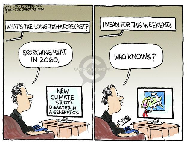 Cartoonist Chip Bok  Chip Bok's Editorial Cartoons 2013-10-12 global warming
