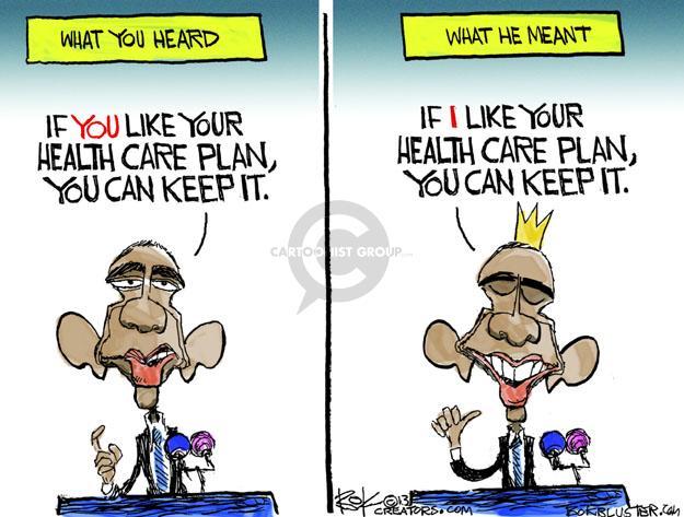 Cartoonist Chip Bok  Chip Bok's Editorial Cartoons 2013-10-30 policy