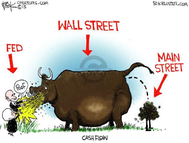 Cartoonist Chip Bok  Chip Bok's Editorial Cartoons 2013-11-14 money