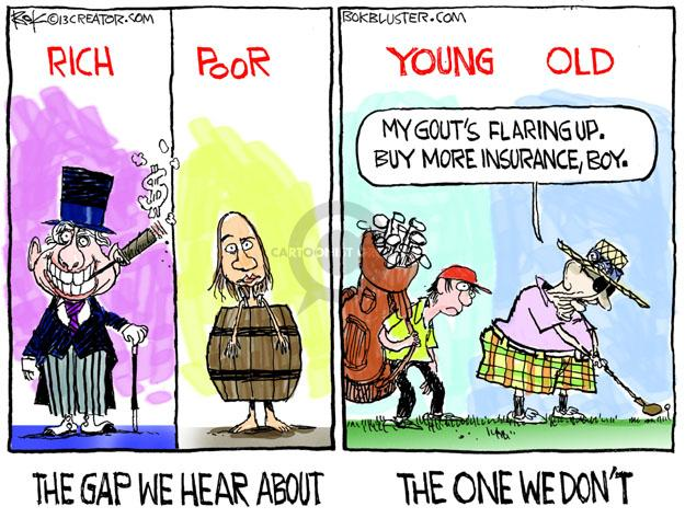Cartoonist Chip Bok  Chip Bok's Editorial Cartoons 2013-11-18 generation