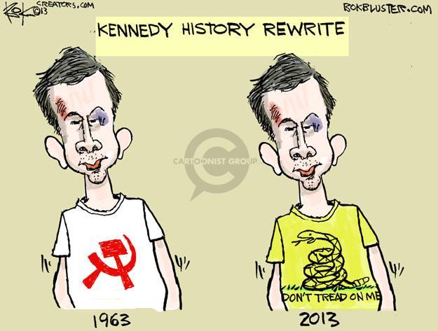 Chip Bok  Chip Bok's Editorial Cartoons 2013-11-23 media coverage