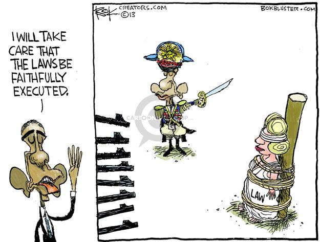 Cartoonist Chip Bok  Chip Bok's Editorial Cartoons 2013-11-25 presidential administration
