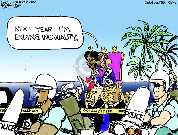 Cartoonist Chip Bok  Chip Bok's Editorial Cartoons 2013-12-30 first lady