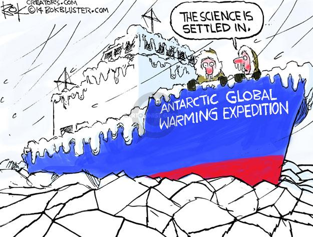 The science is settled in. Antarctic Global Warming Expedition.