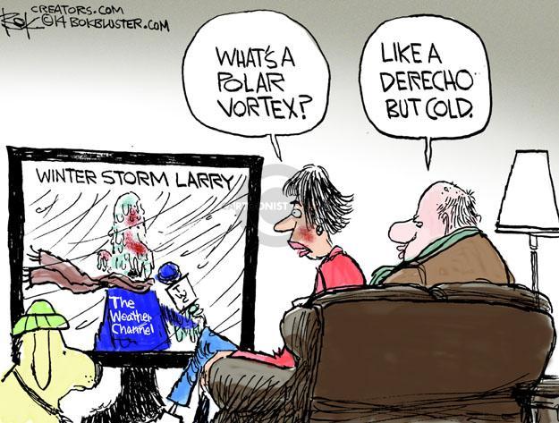 Cartoonist Chip Bok  Chip Bok's Editorial Cartoons 2014-01-07 storm