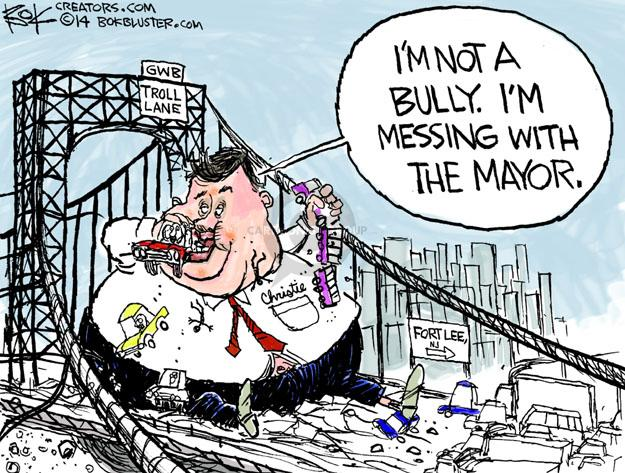 Chip Bok  Chip Bok's Editorial Cartoons 2014-01-10 infrastructure