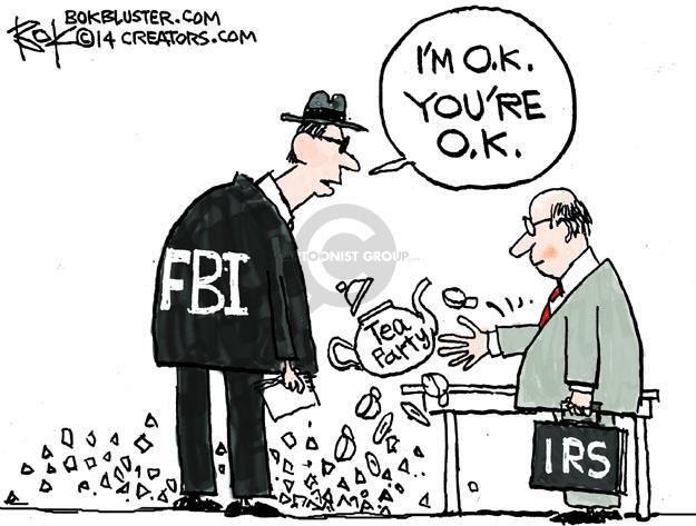 Chip Bok  Chip Bok's Editorial Cartoons 2014-01-16 partisan