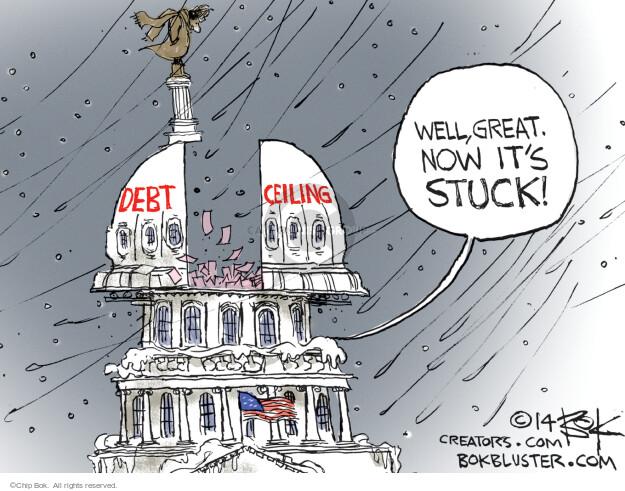 Chip Bok  Chip Bok's Editorial Cartoons 2014-02-12 federal budget