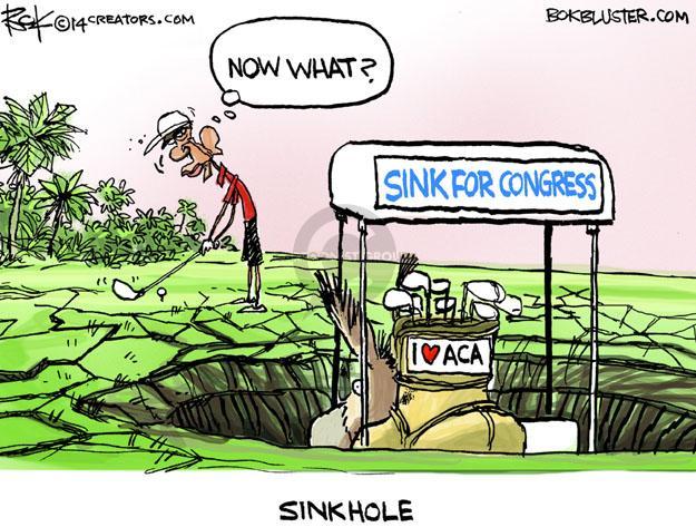 Cartoonist Chip Bok  Chip Bok's Editorial Cartoons 2014-03-13 congress health care