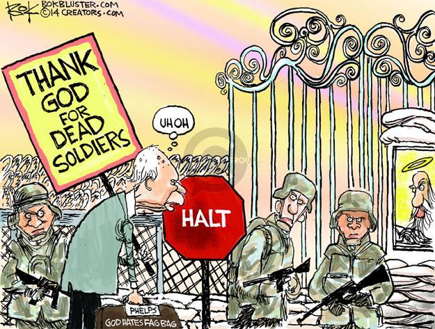 Cartoonist Chip Bok  Chip Bok's Editorial Cartoons 2014-03-22 anti-homosexual