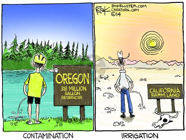 Chip Bok  Chip Bok's Editorial Cartoons 2014-04-23 Oregon