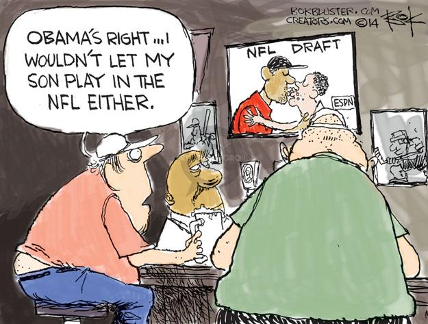 Cartoonist Chip Bok  Chip Bok's Editorial Cartoons 2014-05-12 open