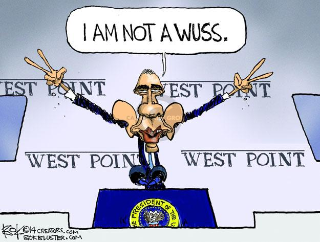 Cartoonist Chip Bok  Chip Bok's Editorial Cartoons 2014-05-30 foreign policy