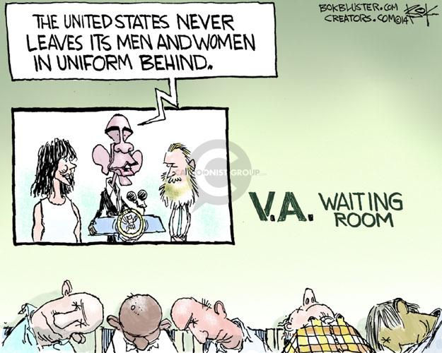 Cartoonist Chip Bok  Chip Bok's Editorial Cartoons 2014-06-03 military uniform