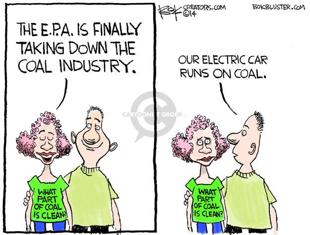 Cartoonist Chip Bok  Chip Bok's Editorial Cartoons 2014-06-05 energy policy