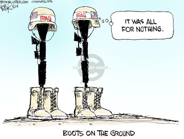 Cartoonist Chip Bok  Chip Bok's Editorial Cartoons 2014-06-14 ground