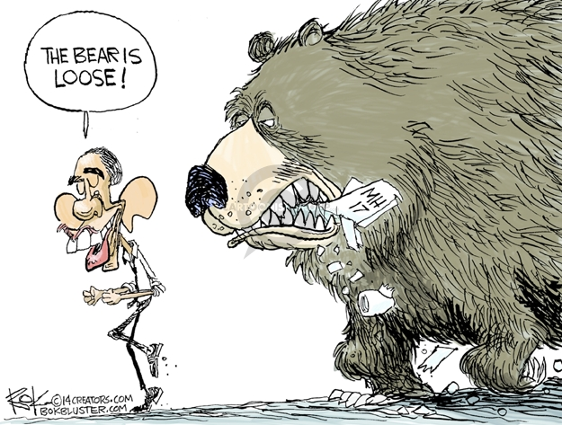 Cartoonist Chip Bok  Chip Bok's Editorial Cartoons 2014-07-19 foreign policy