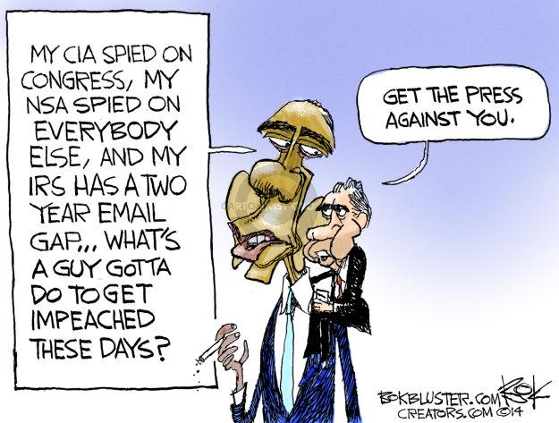 Cartoonist Chip Bok  Chip Bok's Editorial Cartoons 2014-08-06 IRS