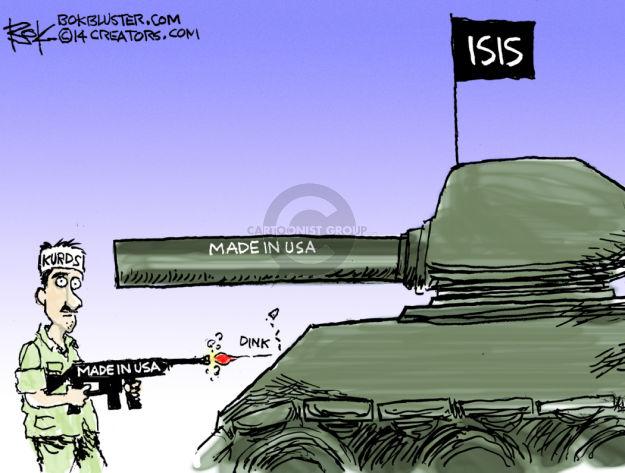 Cartoonist Chip Bok  Chip Bok's Editorial Cartoons 2014-08-14 Iraq