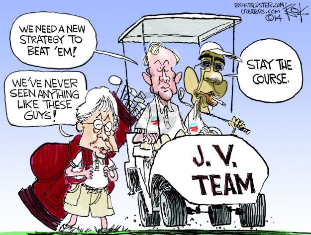 Cartoonist Chip Bok  Chip Bok's Editorial Cartoons 2014-08-26 Iraq