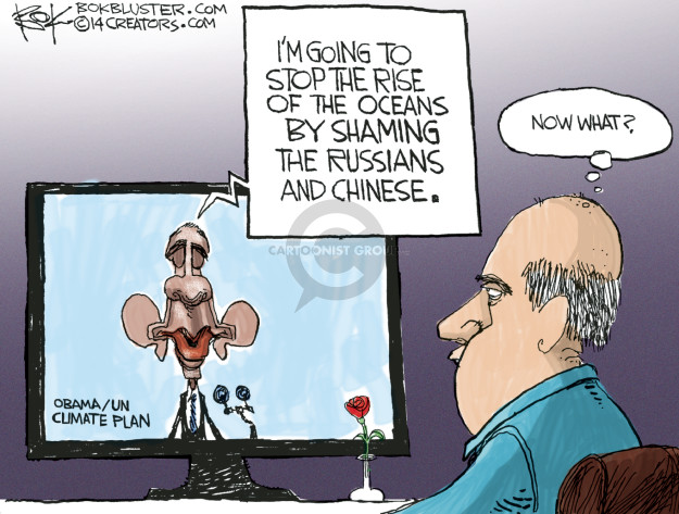 Chip Bok  Chip Bok's Editorial Cartoons 2014-08-29 chinese